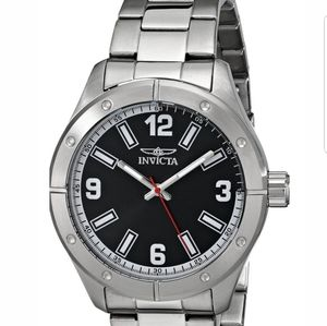 **NEW**  Invicta Specialty Black Dial Stainless St